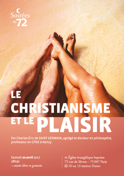 Christianisme et plaisir ECRAN